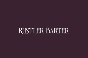 Rustler Barter Free Font