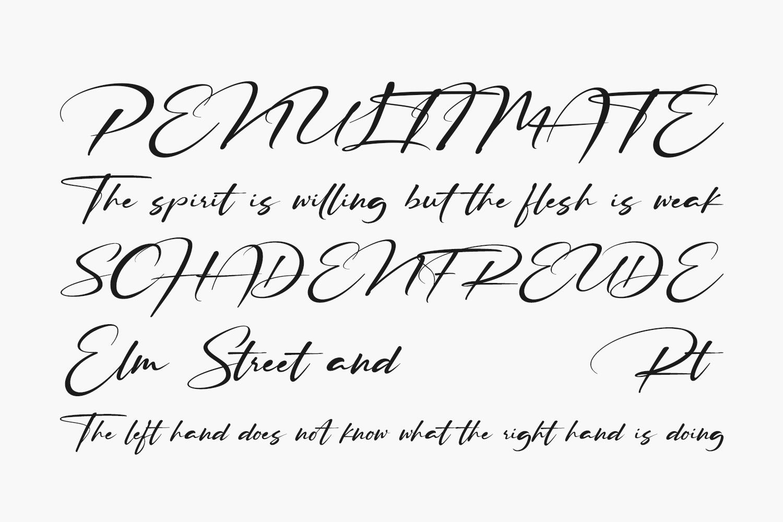 Ruthligos Free Font
