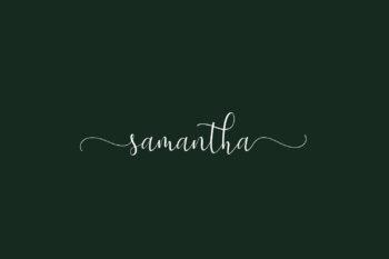 Samantha Free Font