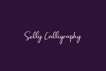 Selly Calligraphy Free Font