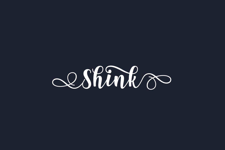 Shink Free Font