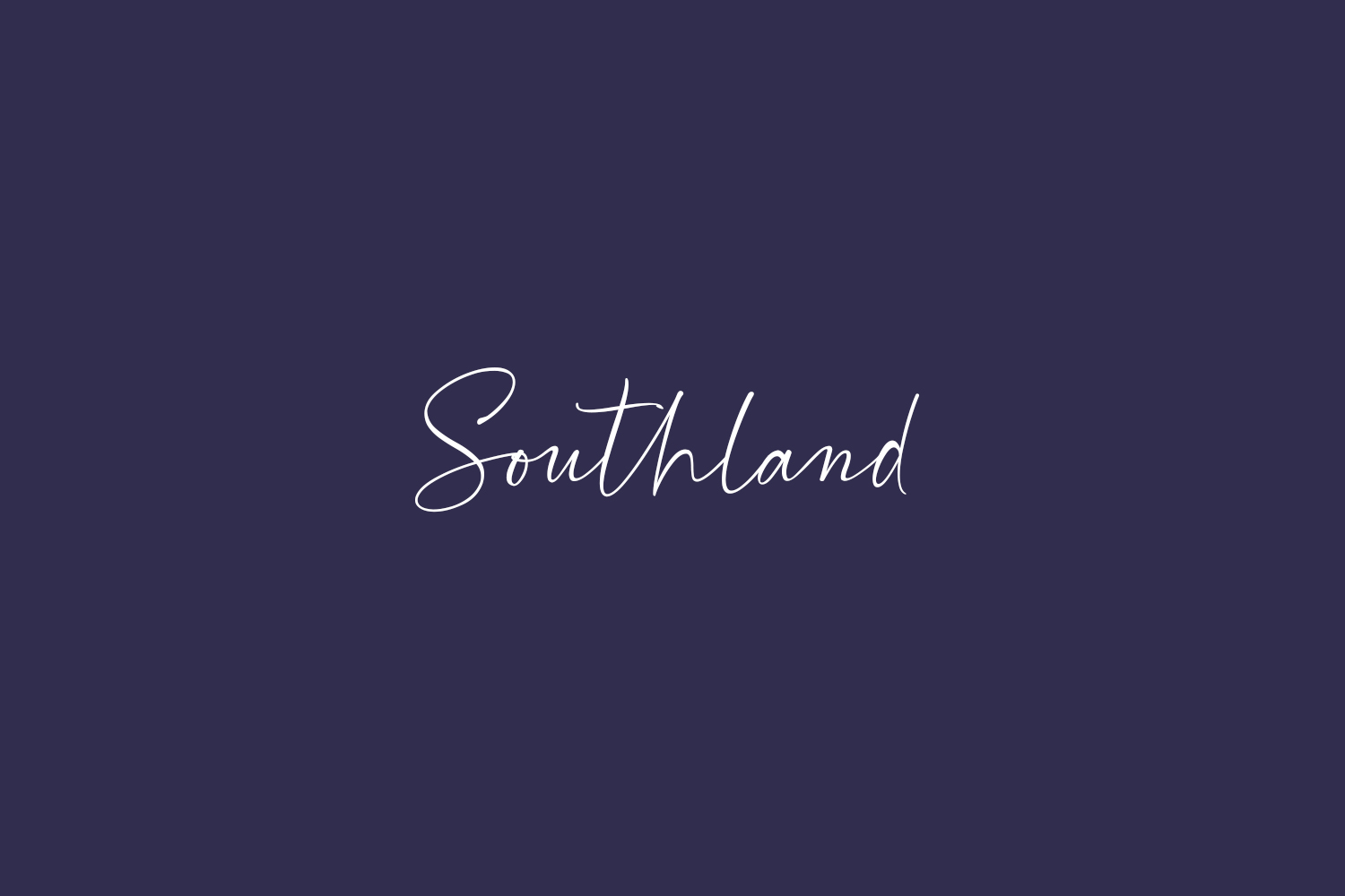 Southland Free Font