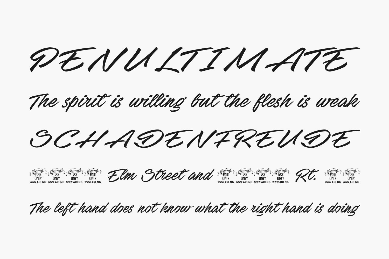 Stackyard Free Font