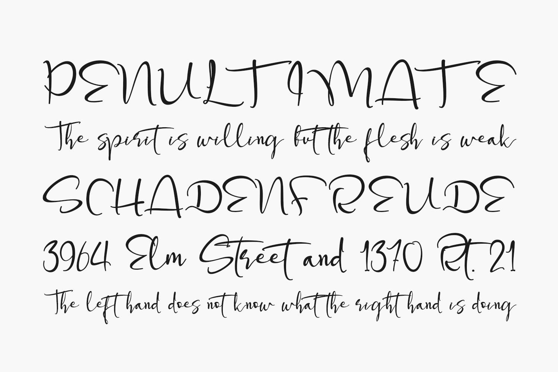 Steffinella Free Font