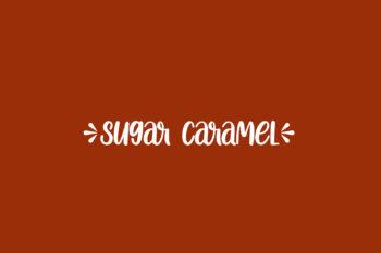 Sugar Caramel Free Font