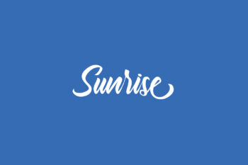 Sunrise Free Font