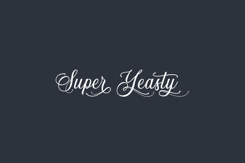 Super Yeasty Free Font