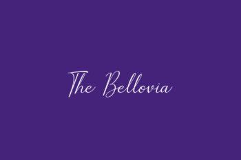 The Bellovia Free Font
