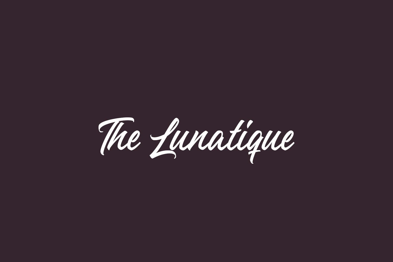The Lunatique Free Font