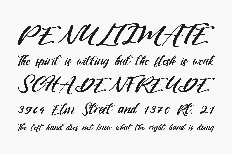 Vagnotie Free Font