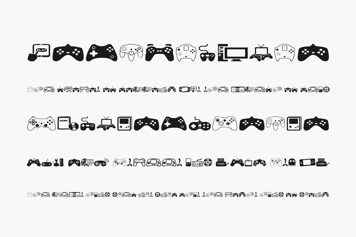 Video Games Free Font