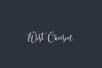 West Cousin Free Font