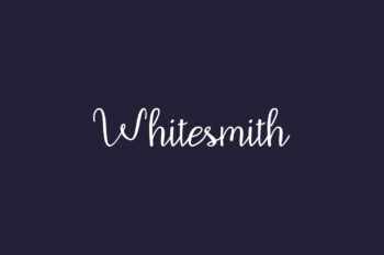 Whitesmith Free Font