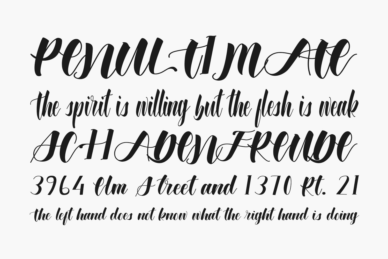 Wonderfull Bali Free Font