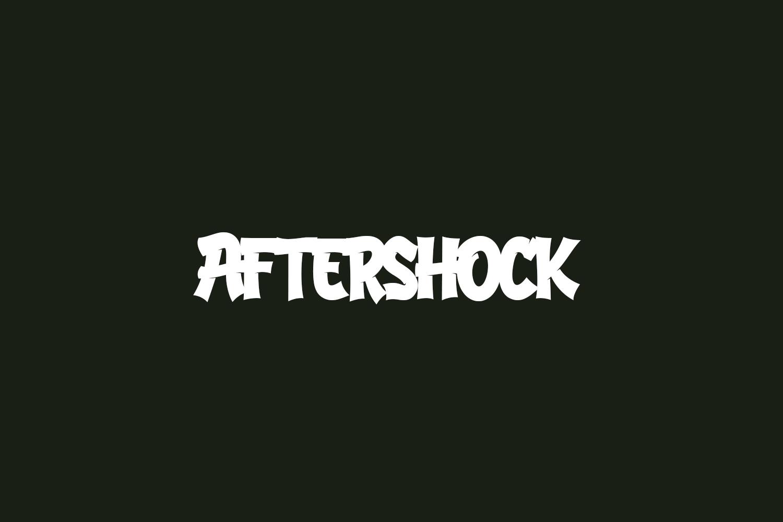 Aftershock Free Font