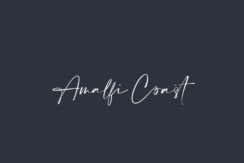 Amalfi Coast Free Font