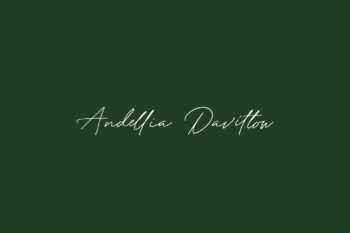 Andellia Davilton Free Font