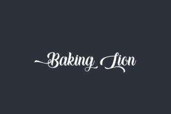 Baking Lion Free Font