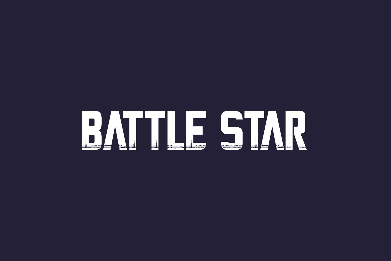 Battle Star Free Font