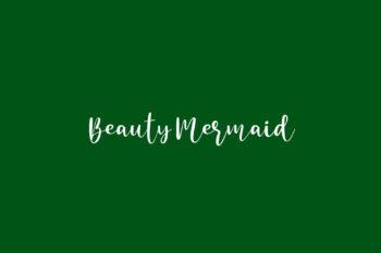 Beauty Mermaid Free Font