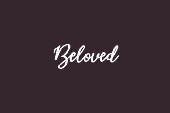 Beloved Free Font