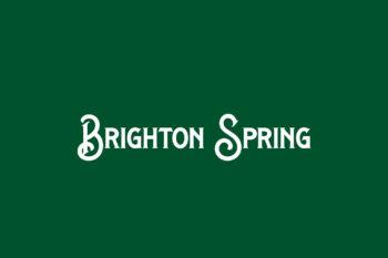 Brighton Spring Free Font