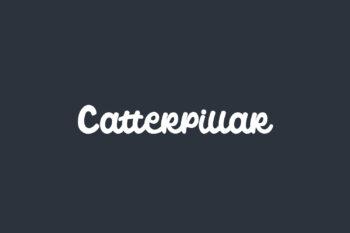 Catterpillar Free Font