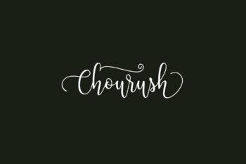 Chourush Free Font