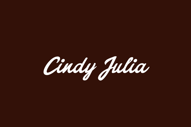 Cindy Julia