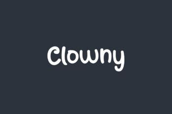 Clowny Free Font
