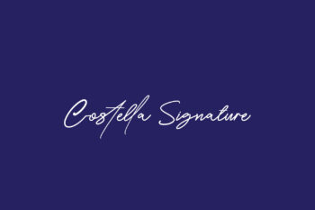 Costella Signature Free Font