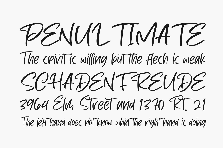 Dark Phoenix Free Font