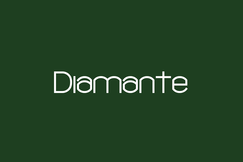 Diamante Free Font