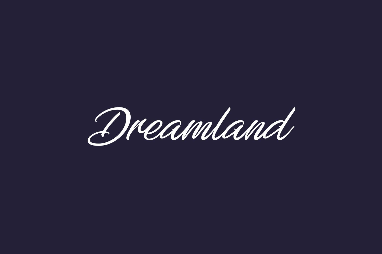 Dreamland Free Font