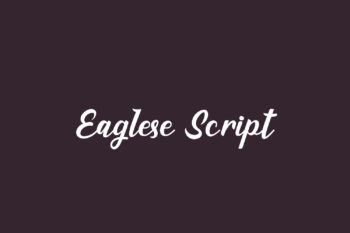 Eaglese Script Free Font