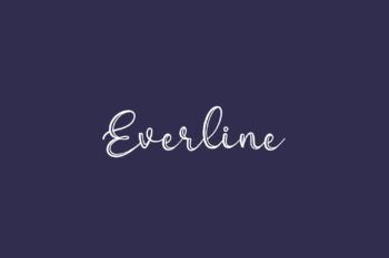 Everline Free Font