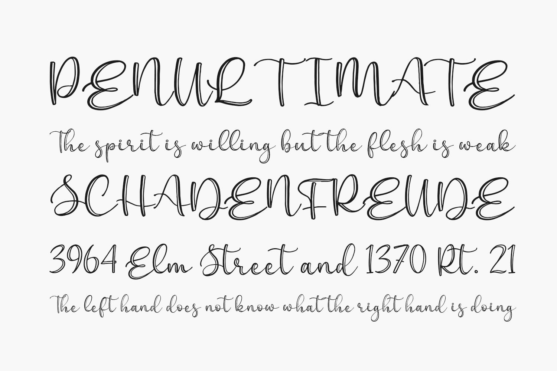 Everline Free Font