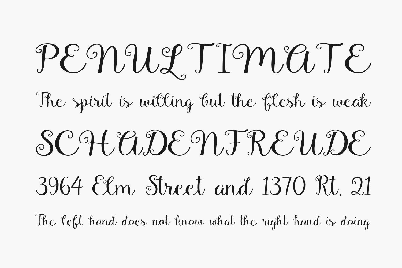 Gardenia Free Font
