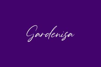 Gardenisa Free Font