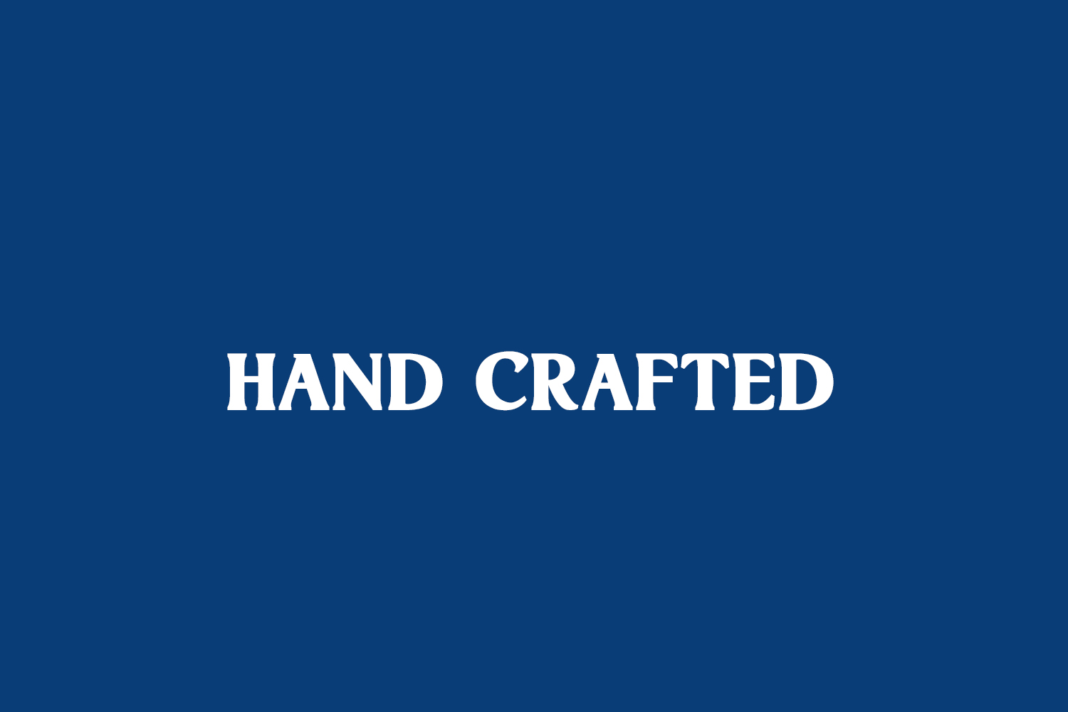 Hand Crafted Free Font