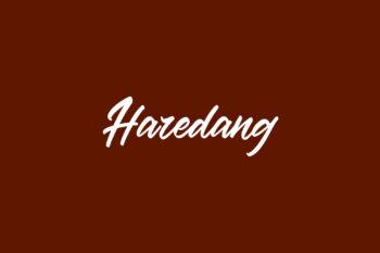 Haredang Free Font