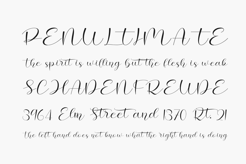 Hello Cristina Free Font
