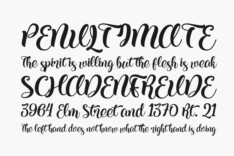 Kite Script Free Font