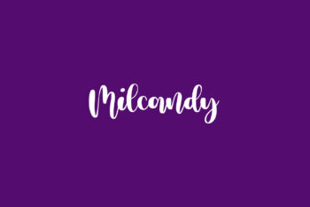 Milcandy Free Font