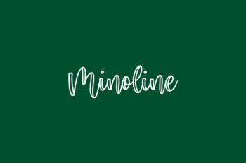 Minoline Free Font