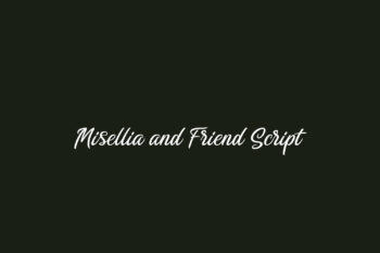 Misellia and Friend Script Free Font