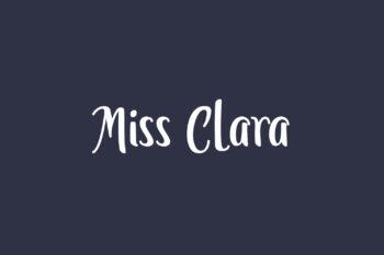Miss Clara Free Font