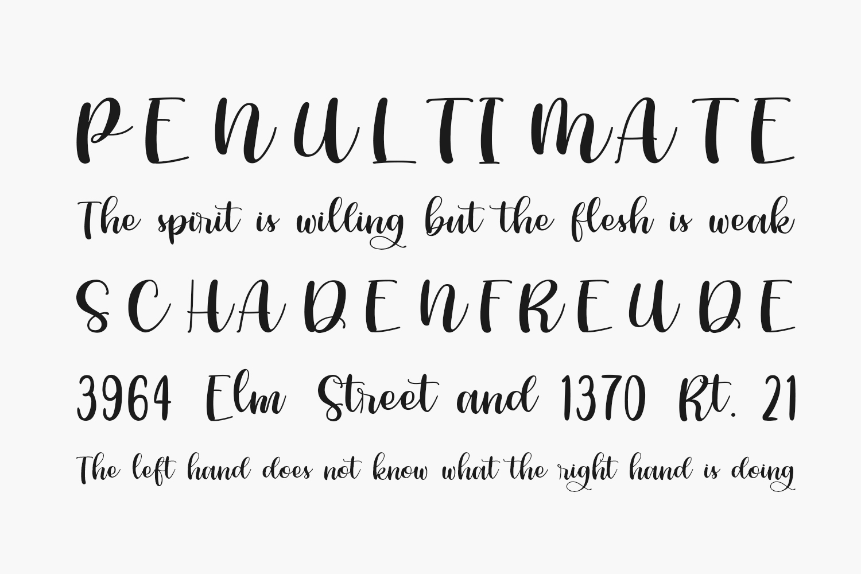 Phiscilla Free Font
