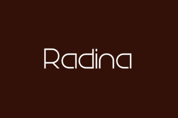 Radina Free Font