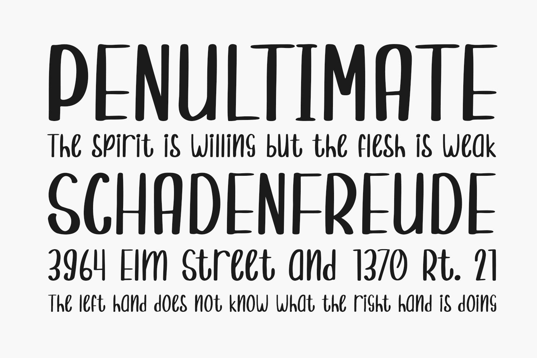 Randomly Cute Free Font